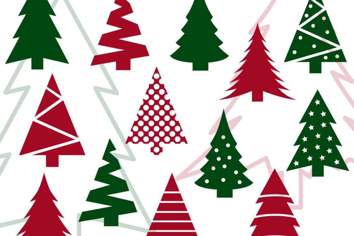 Christmas Tree SVG Bundle.