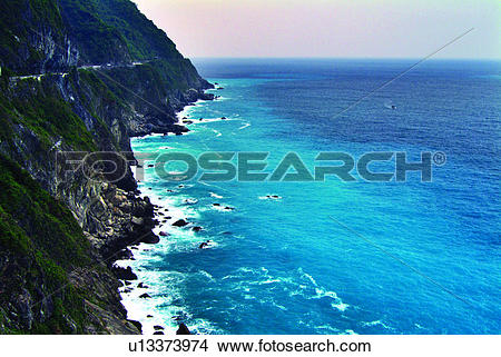 Stock Photo of Discovery of Nature, Coast line, Natural landscape.