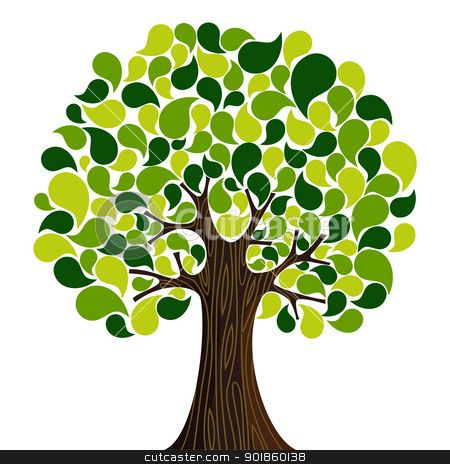Tree clipart high resolution.