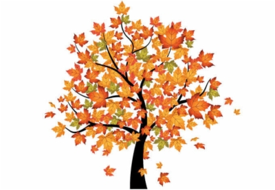 fall trees , Free clipart download.