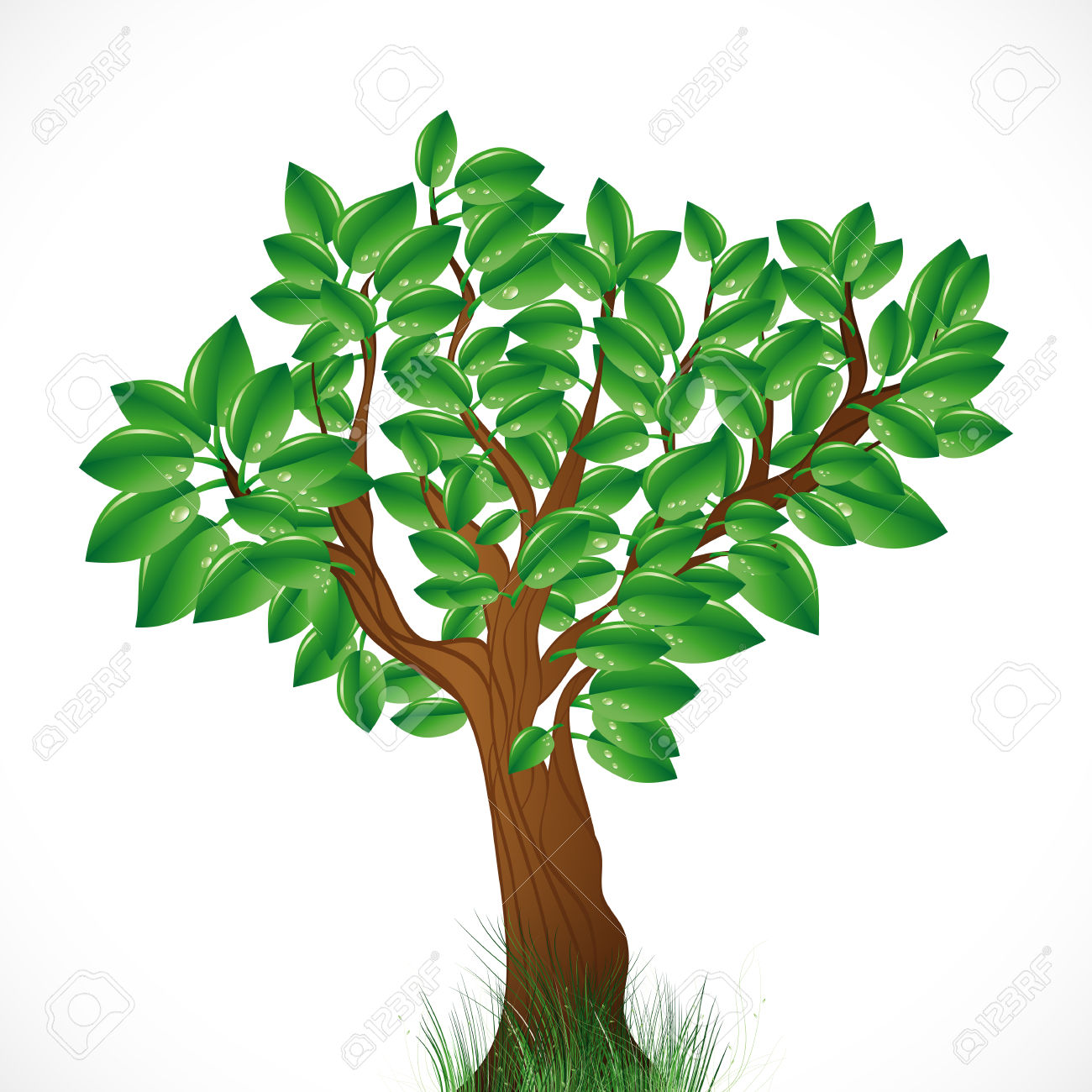 Tree Clip Art Black And White Free.