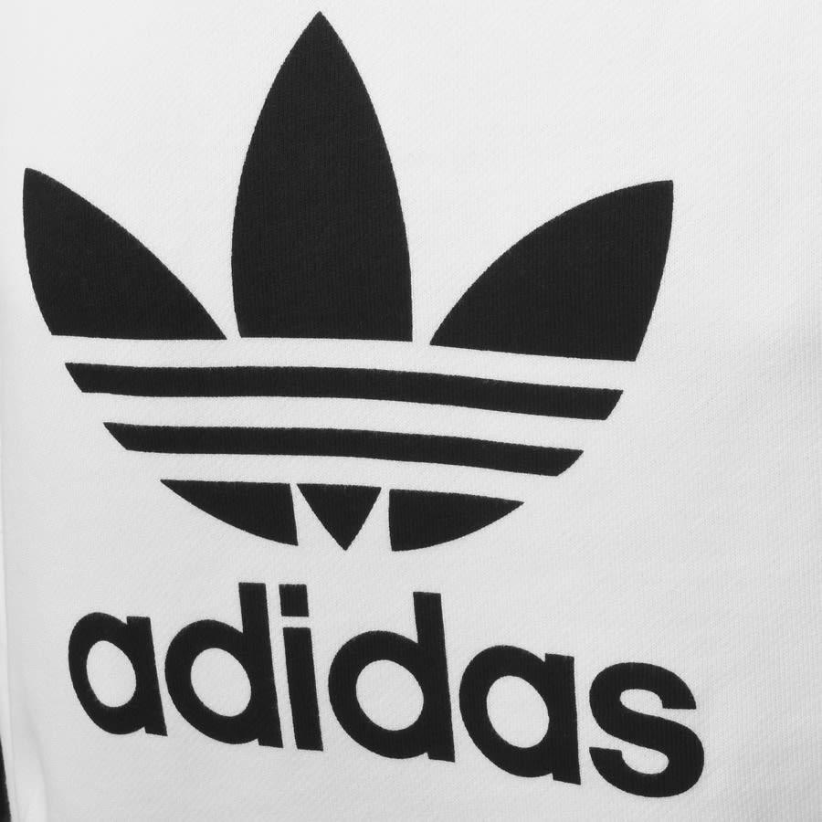 adidas Originals Trefoil Logo Sweatshirt White.