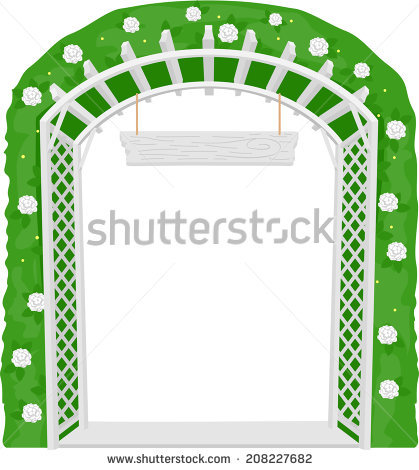 Garden Trellis Stock Photos, Royalty.