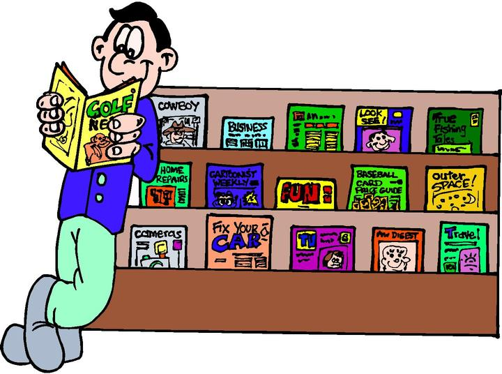 reading magazines clipart 20 free Cliparts | Download images