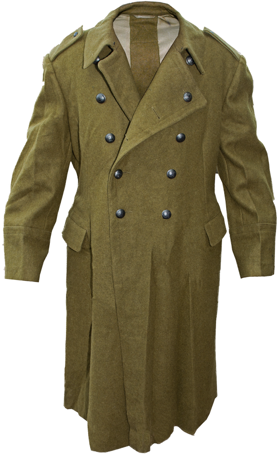 Trench Coat PNG Transparent Image.