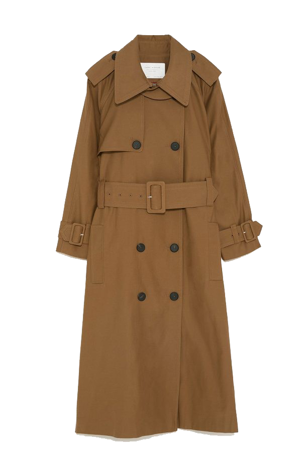 Trench Coat For Women PNG Free Images.