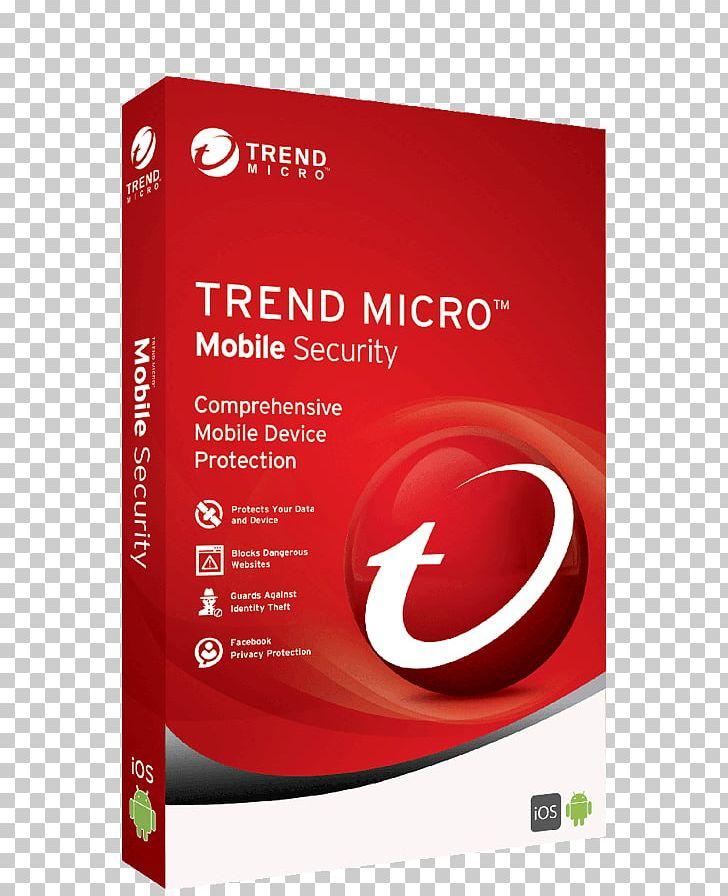 Trend Micro Internet Security Antivirus Software Computer.