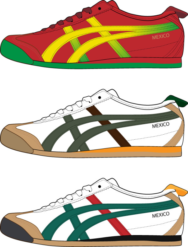 Shoes Vector.