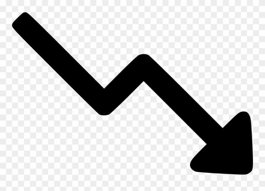 Trending Down Arrow Up Decrease Comments Clipart (#2240164.