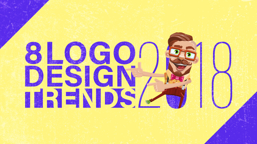 8 Logo Design Trends 2018: Stay at the Top of Your Game.