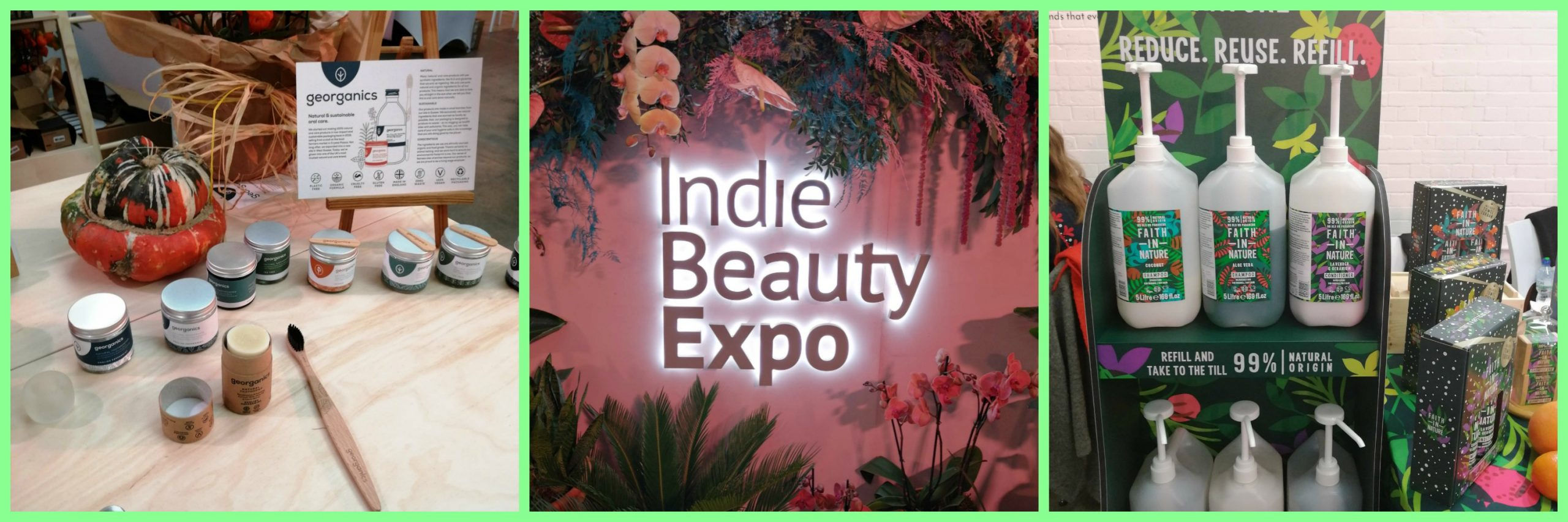 Beauty trends: Exploring the Indie Beauty Expo London 2019.