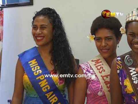 Trends Beauty International sponsors 2019 Miss PNG Pageant.