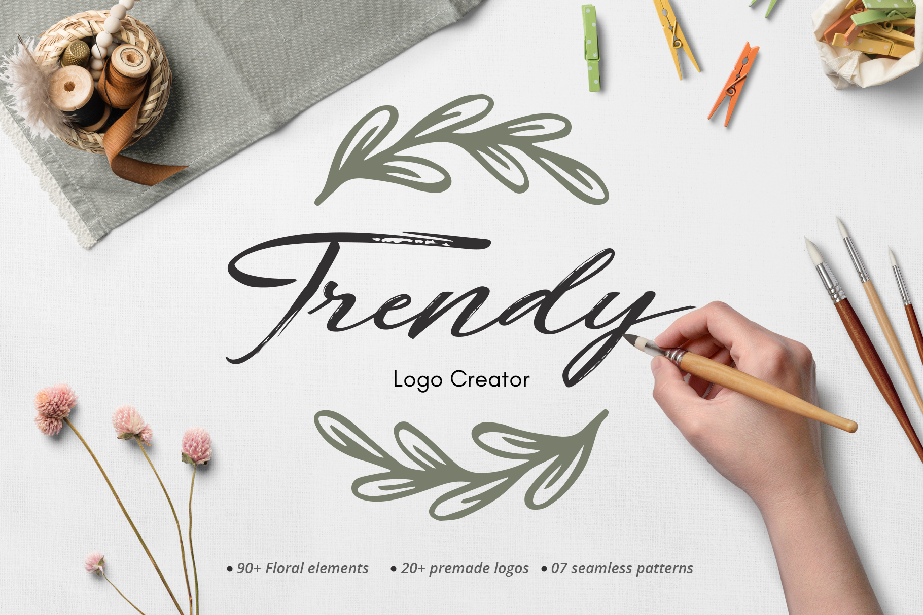 Trendy Logo Creator.