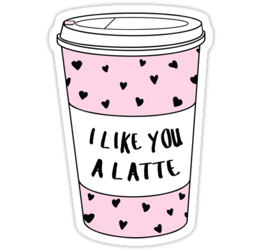 I Like You A Latte ♡ Trendy/Hipster/Tumblr Meme.