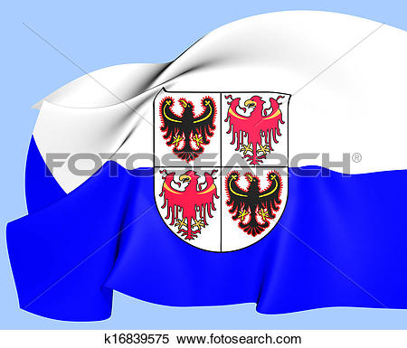 Stock Illustration of Trentino.