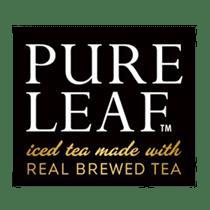 Pure Leaf Logo transparent PNG.