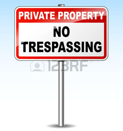 295 No Trespassing Stock Vector Illustration And Royalty Free No.