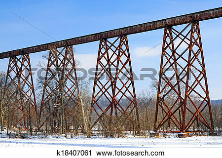 Stock Photography of The Tulip Train Trestle k18407061.