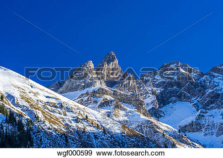Stock Photograph of Germany, Bavaria, Allgaeu, Panorama from.