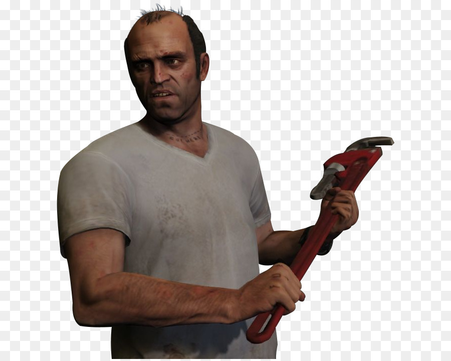 Grand Theft Auto V Shoulder png download.