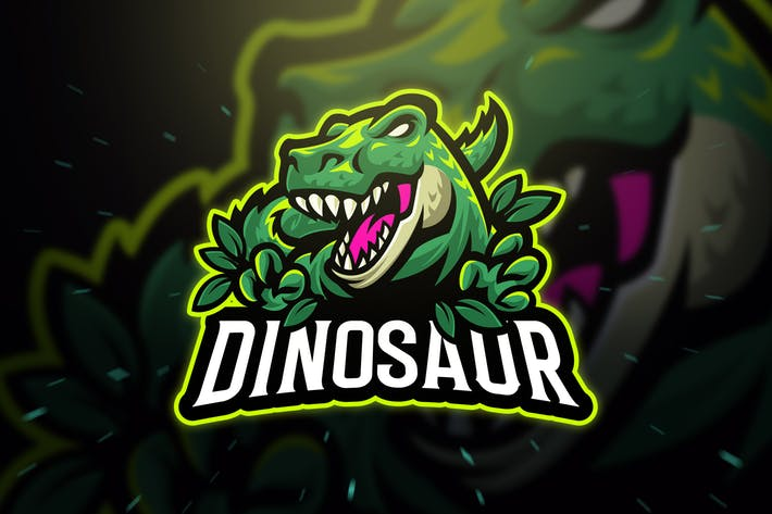 Dinosaur Trex Sport and Esport Logo by Blankids on Envato Elements.