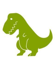 Cute T Rex Silhouette.