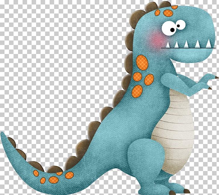 Blue cartoon dinosaur, blue T.
