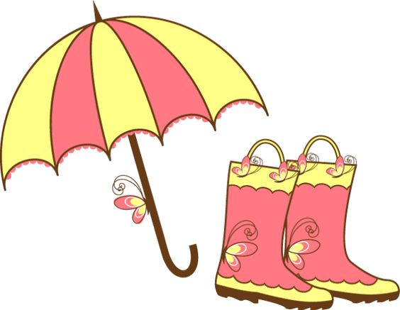 Great Rain Related Clip Art.