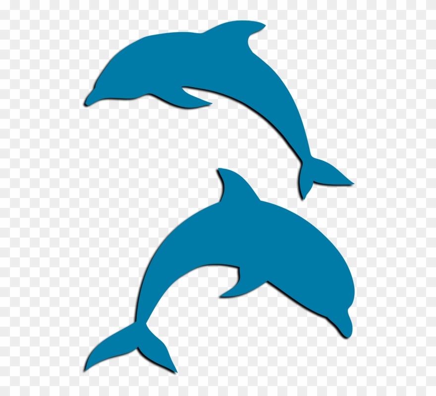 Tri Delta Dolphin Png Clipart (#4906657).