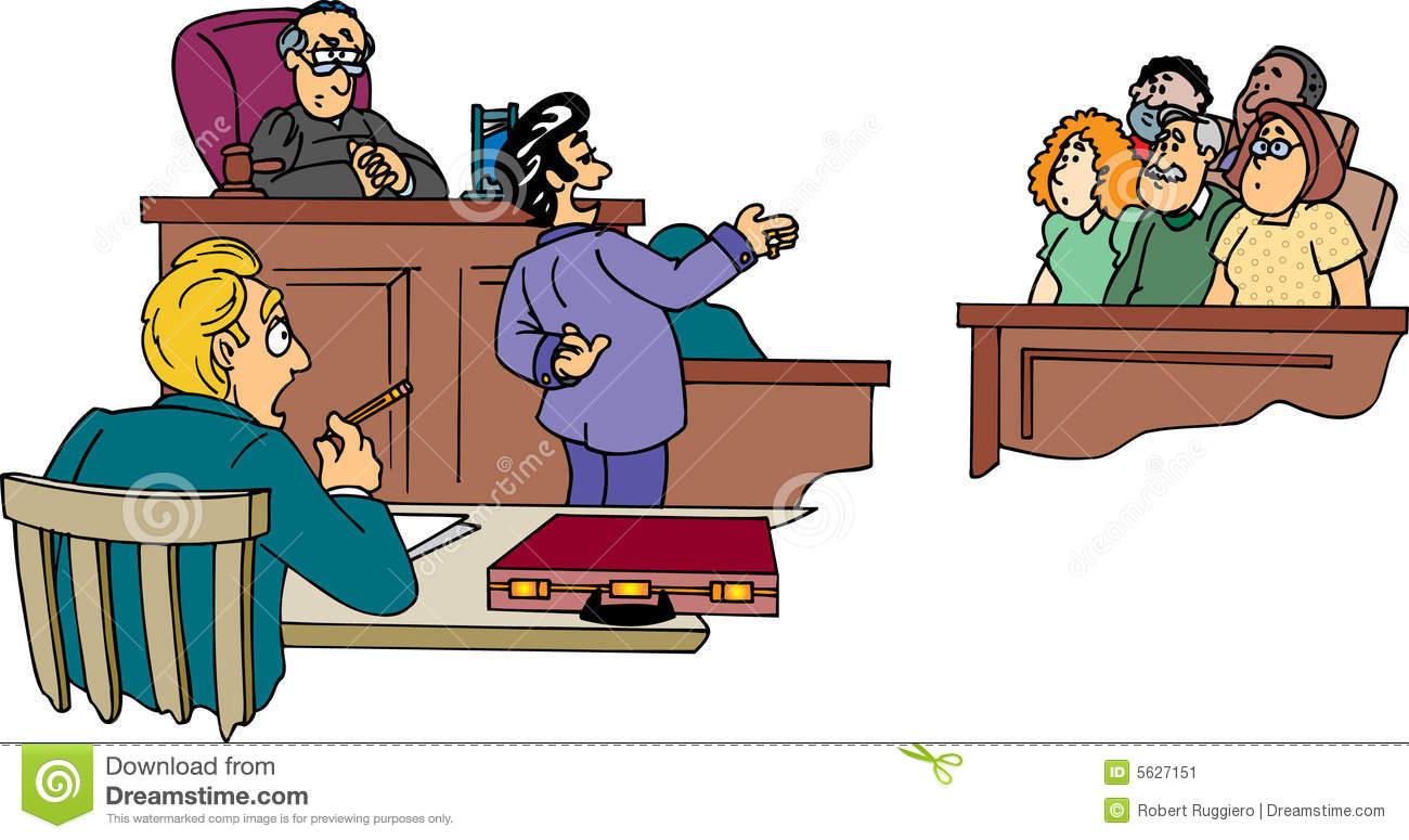 Court Jury Clipart.