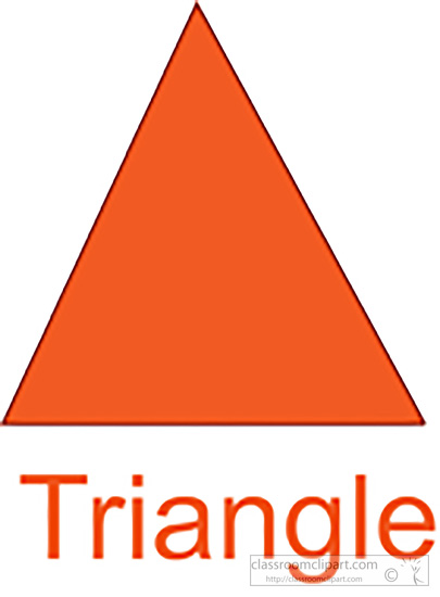 Triangle Clipart.