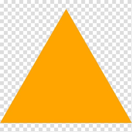 Yellow triangle , Triangle Yellow Pyramid Pattern, Triangle.