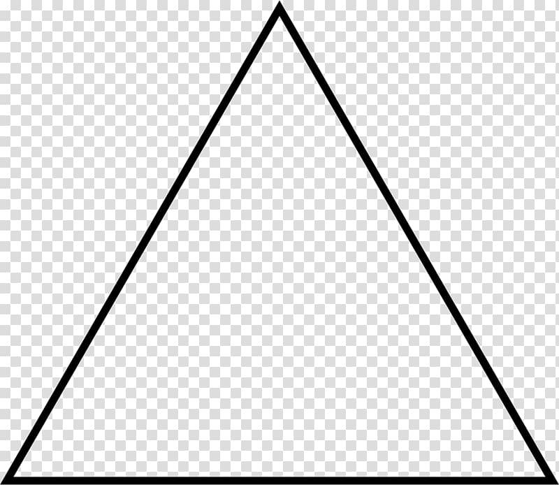 Triangle illustration, Equilateral triangle Isosceles.