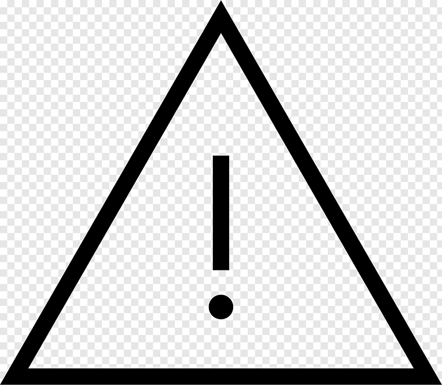 Exclamation Mark, Triangle, Area, Point, Symbol.