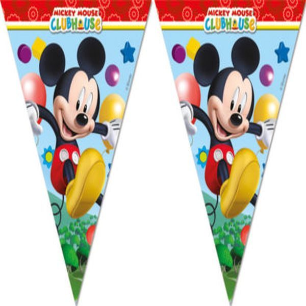 Procos Playful Mickey Triangle Flag Banner 5201184815151.