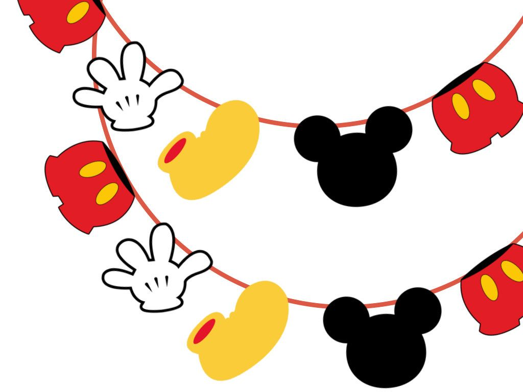 Mickey Mouse Banner in 2019.