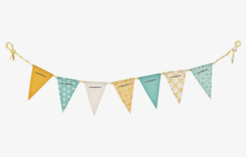 Free Pennant Banner Clip Art with No Background.