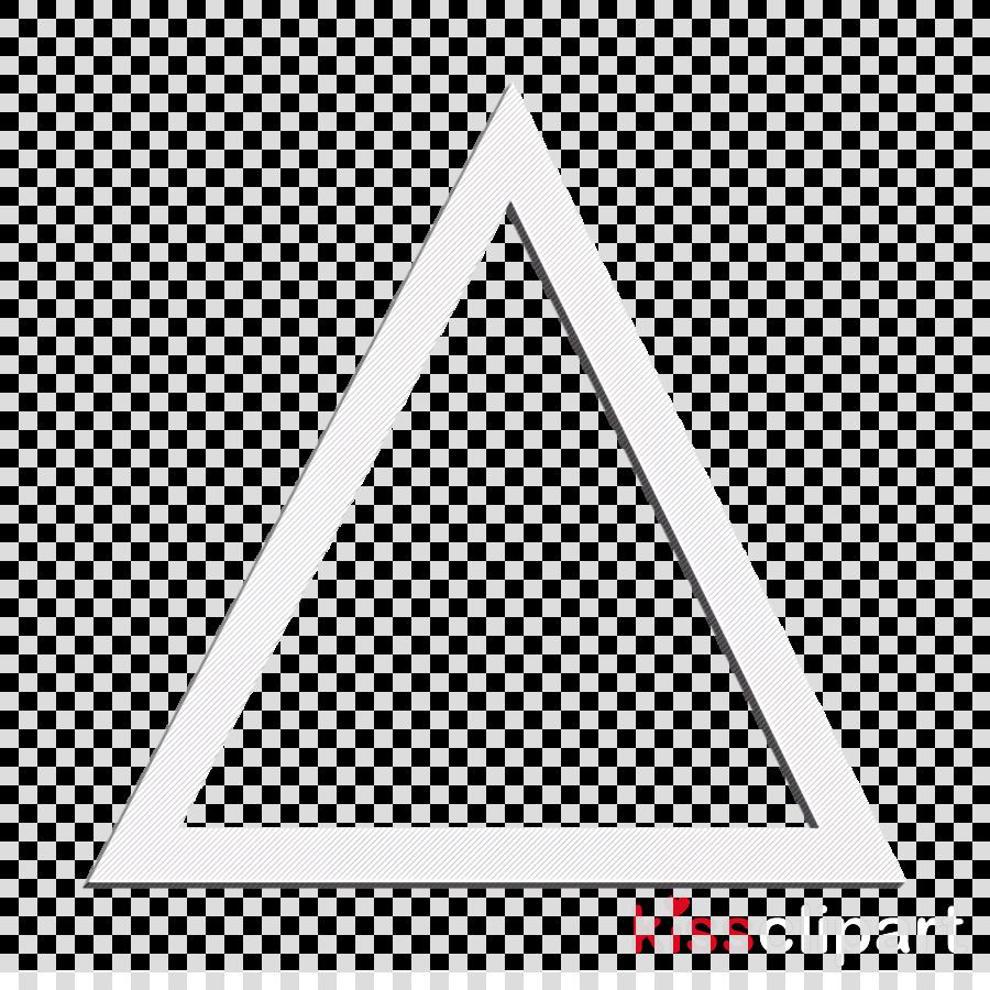 shape icon triangle icon clipart.