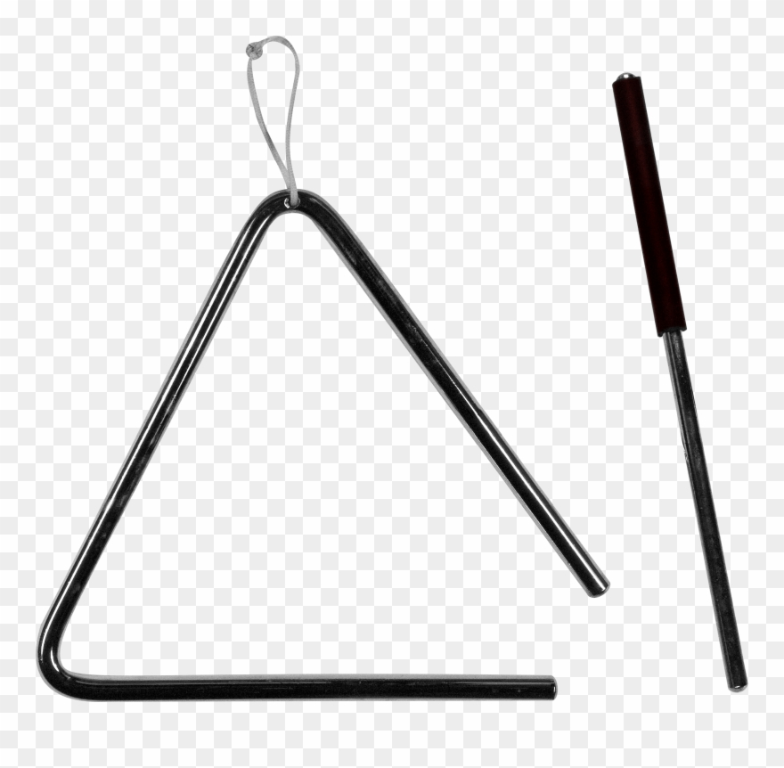 Triangle Clip Musical Instrument.