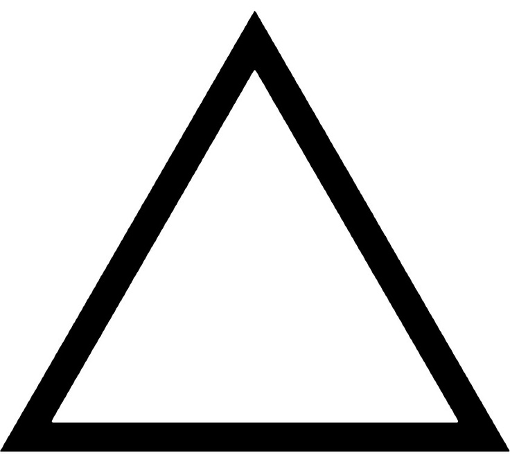 Triangle Outline.