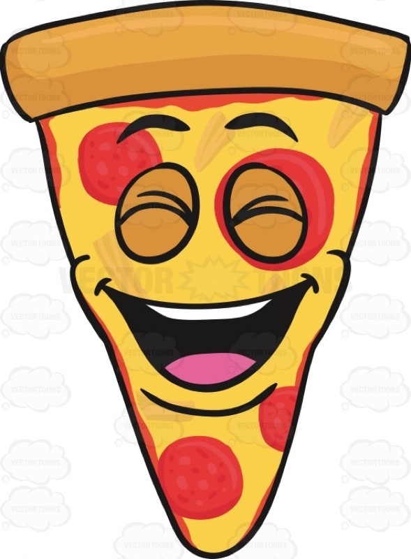 Triangle Pizza Clipart.