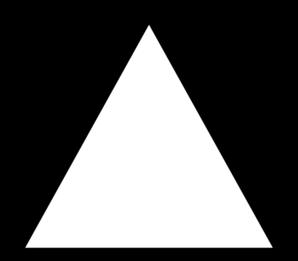 Triangle Hollow Clip Art at Clker.com.