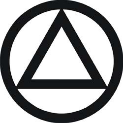 AA Circle & Triangle Decal.