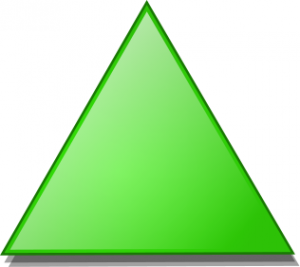 Thirds Of Triangles Clip Art Download.