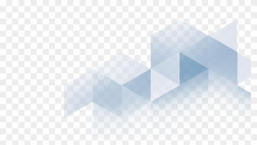 Blue Triangles Png.