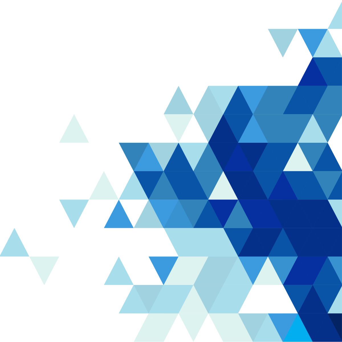 Blue Abstract Triangles PNG Picture #46467.