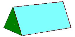 Triangular Prism Clipart.