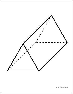 3d Rectangular Prism Clipart#2000870.