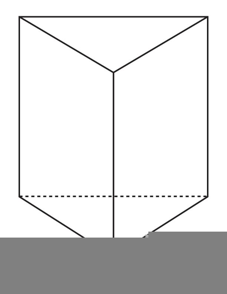 Free Clipart Triangular Prism.