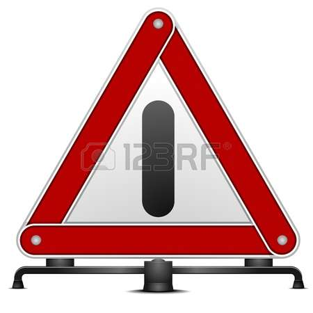 Triangular Safety Reflector Stock Photos Images, Royalty Free.